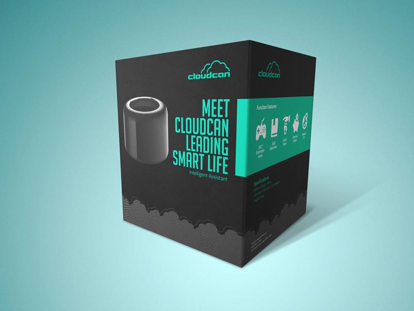 云罐 数码产品包装设计